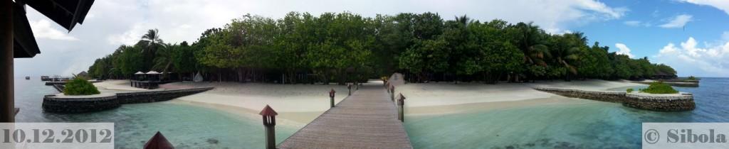 Panoraam saarele maabumise sillalt